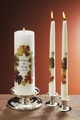 "Autumn 3x9 Wedding Unity Candle and 12"" Tapers"