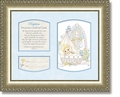 Baptism Boy Psalm 127:3 Framed Christian Art by Heartfelt