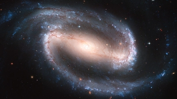 Barred Spiral Galaxy - 4 Options Available