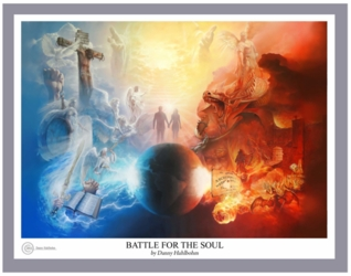 Battle For The Soul by Danny Hahlbohm - Unframed Christian Art