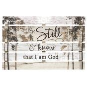 Be Still And Know That I Am God Pallet Decor - Christian Home Decor