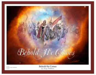 Behold He Comes by Danny Hahlbohm - 6 Unframed Options