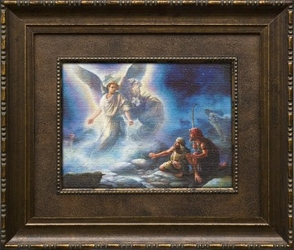 Behold I Bring You Good Tidings by Tom duBois - Framed Christian Art