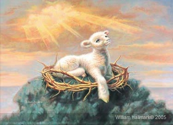 Behold the Lamb by William Hallmark - 5 Unframed Options