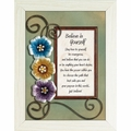 Believe in Yourself - Framed Christian Tabletop Home Decor