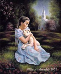 Blessed are the Pure in Heart by William Hallmark