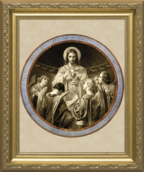 Bread of Angels - 2 Framed Options - Christian Art
