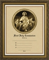 Bread of Angels First Communion Framed Christian Wall Decor