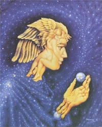 Celestial Bodies by Octavio Ocampo - 3 Sizes Available
