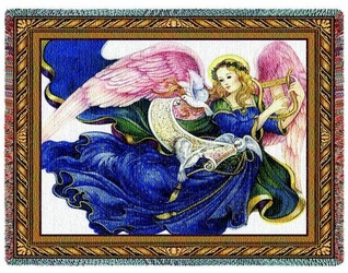 Celestial Grace Tapestry Throw