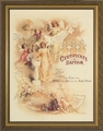 Certificate of Baptism Framed Christian Wall Decor