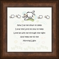 Children's Framed Inspirational Art Decor
