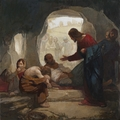 Christ Among The Lepers by J. Kirk Richards - 4 Unframed Selections