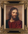 Christ at 33 by Heinrich Hofmann - Framed Christian Art