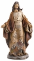 Christ with Lord's Prayer Figurine