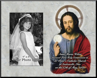 Christ with the Eucharist - Personalized