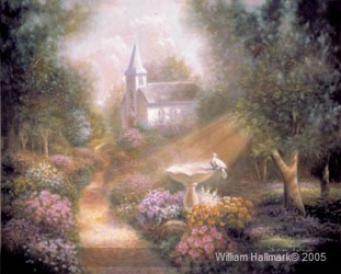 Church in the Wild Wood by William Hallmark - 2  Options Available