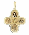 Communion Four Way Medal