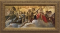 Concert of Angels by Giovanni Battista Gaulli - 3 Framed Options