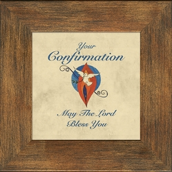 Confirmation Framed Inspirational Gift - 4 Frames Available