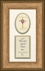 Confirmation Framed Inspirational Photo Gift - 4 Frames Available