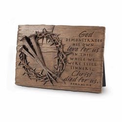 Crown of Thorns Plaque - Christian Home Decor