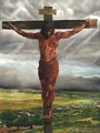 Crucifixion by Jason Jenicke - 2 Unframed Options Available