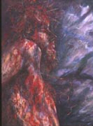 Crucifixion Detail by Gary Lessord - Unframed Christian Art