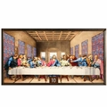 Da Vinci - The Last Supper Stained Glass Artwork