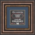 Dad and Granddad - Framed Christian Tabletop Home Decor
