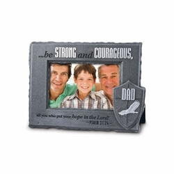 Dad - He Is Your Shield Collection Photo Frame