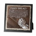Daily Bread Small Stone Sculpture Plaque