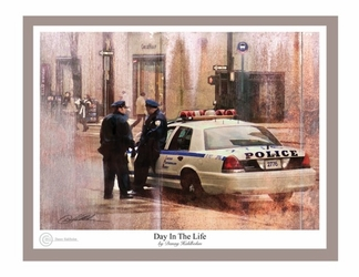 Day In The Life by Danny Hahlbohm - Unframed Christian Art