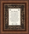 Dear Minister Framed Christian Wall Decor
