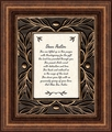 Dear Pastor Framed Christian Wall Decor