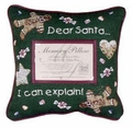 Dear Santa Memory Pillow