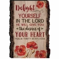 Delight Yourself In The Lord Barky Sign
