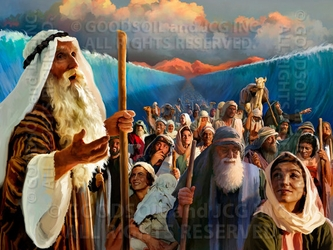Deliverance Through The Red Sea - 13 Selections Available