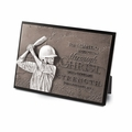 Determination - Baseball Sculpture Plaque - Christian Home Decor