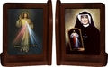 Divine Mercy/St. Faustina Bookends