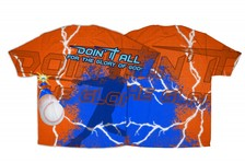 """Doin It All"" Baseball Graphic Poly T-Shirt"