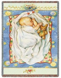 Dreamland Tapestry Throw for Baby's Room