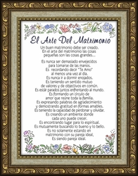 El Arte Del Matrimonio Framed Spanish Gift - 4 Frames Available