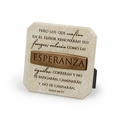 ESPERANZA (Hope) Spanish Plaque - Christian Home Decor