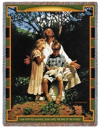 Even in Darkness Tapestry Throw