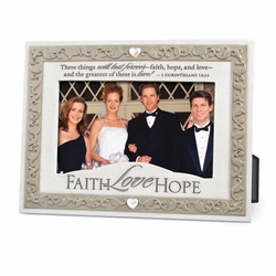 Faith Hope and Love Picture Frame