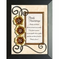 Family Heartstrings - Framed Christian Tabletop Home Decor