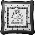 Family Memories Pillow in Spanish