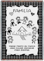 Family Memories Spanish Throw