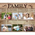 Family Pallet Decor Photo Frame - Christian Home & Wall Decor